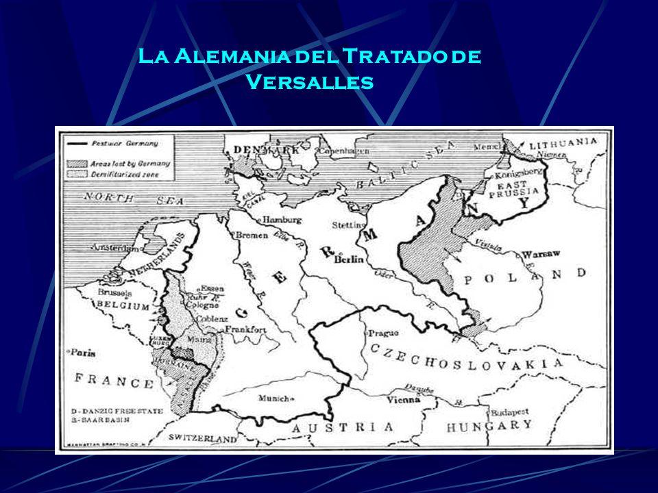 La Alemania del Tratado de Versalles
