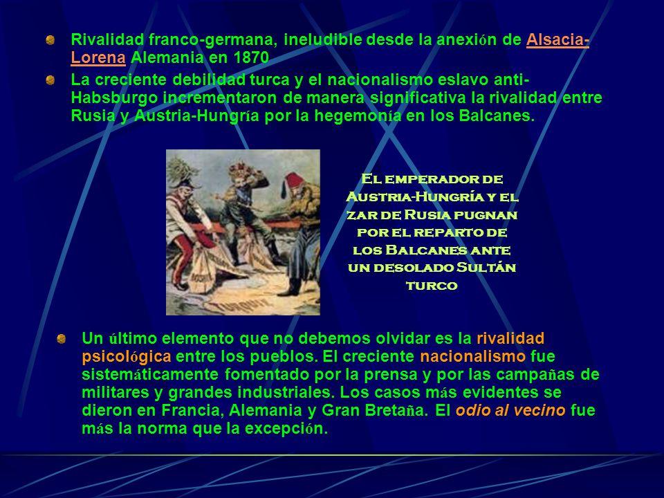 Frente OccidentalFrente OrientalOtros Frentes Estabilización de los frentes.