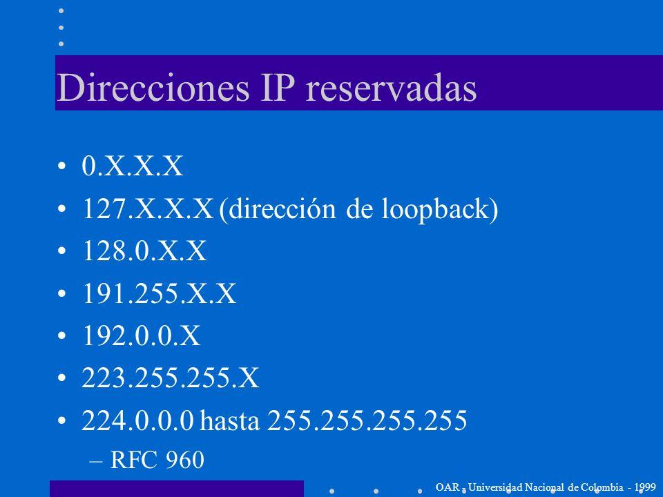 Notación decimal con puntos En lugar de utilizar binarios para representar la dirección IP: 10101000101100000000000100110010 Podemos separarlos en byt