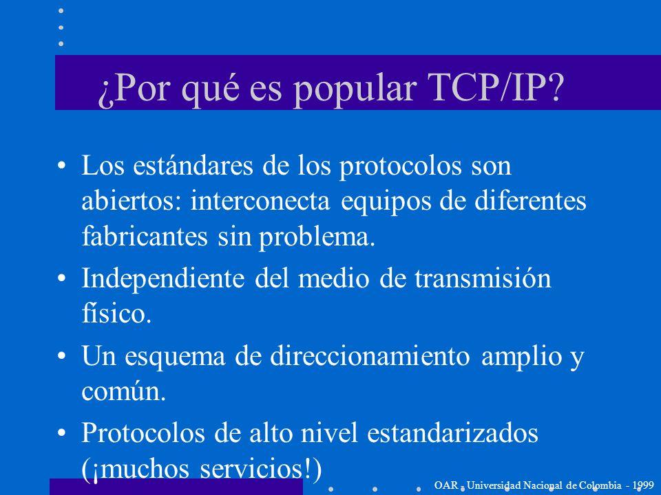 TCP/IP e Internet TCP/IP son los protocolos fundamentales de Internet (Aunque se utilizan para Intranets y Extranets) Stanford University y Bold, Bera