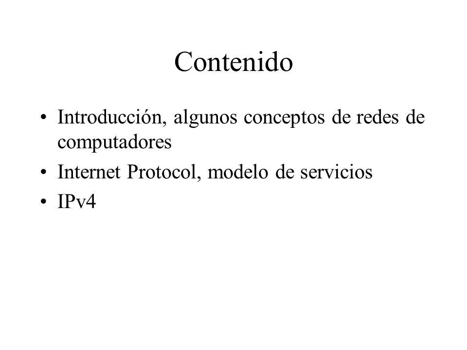 IPv4 Un vistazo