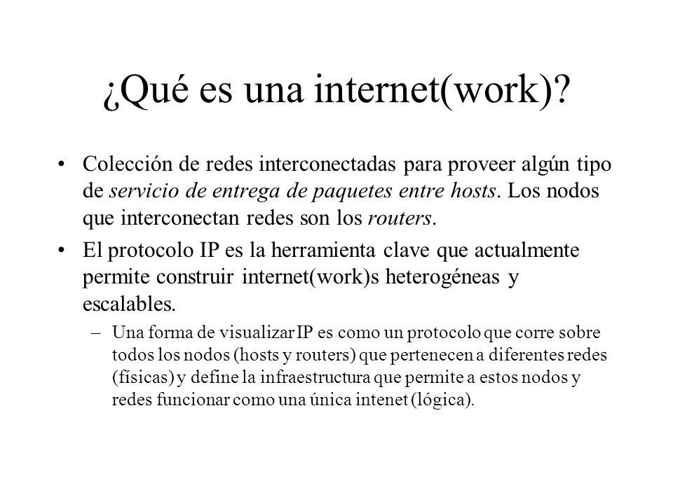 Dos grandes problemas que debe resolver IP Tier-2 ISP NAP Tier 1 ISP local ISP local ISP local ISP local ISP local ISP Tier 3 ISP local ISP local ISP