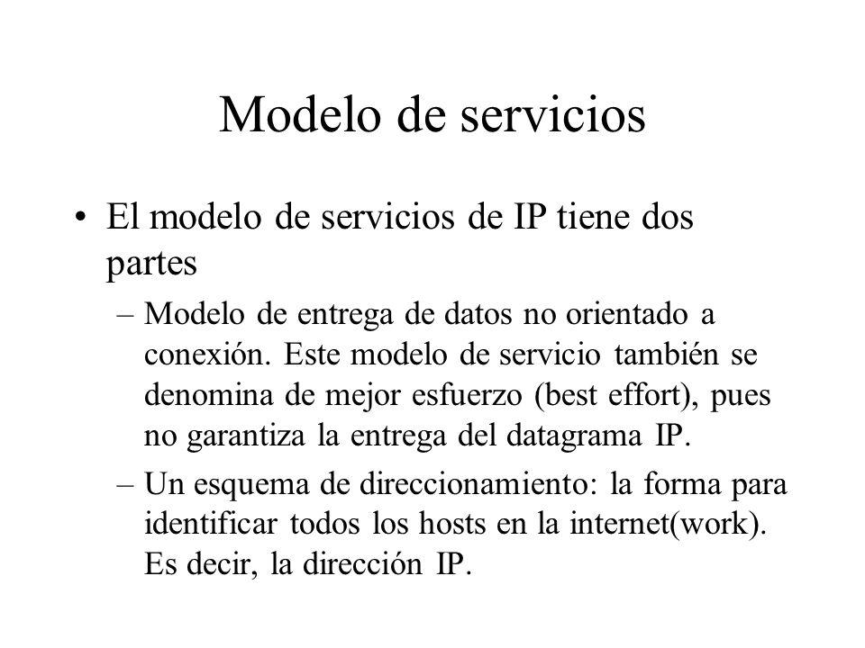 ¿Qué es una internet(work)? Colección de redes interconectadas para proveer algún tipo de servicio de entrega de paquetes entre hosts. Los nodos que i