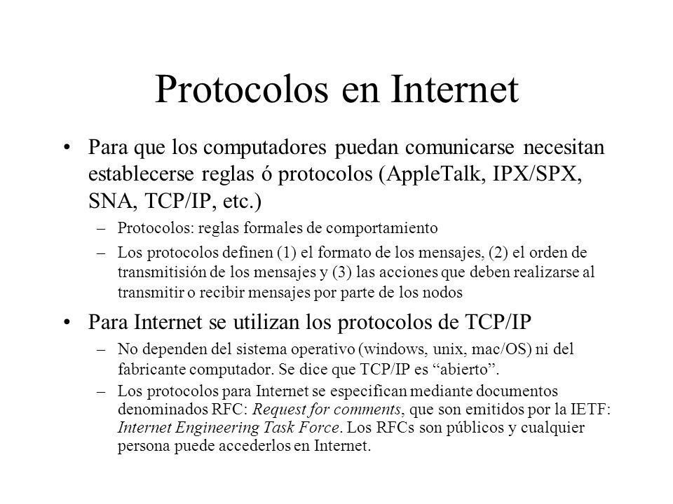 Piezas que componen una red NODOS, ENLACES y PROTOCOLOS. NODOS: dispositivos de cómputo interconectados. –Nodos que ejecutan aplicaciones de red (corr