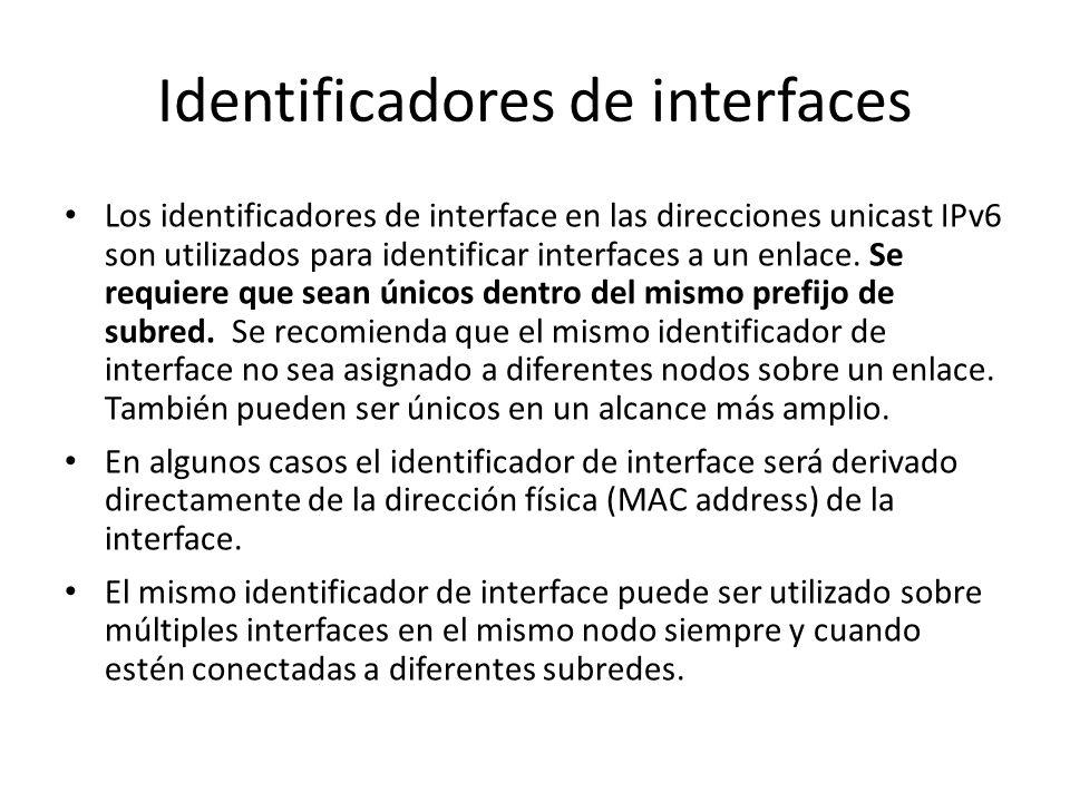 Direcciones Unicast Aunque un router muy simple no necesitaría tener conocimiento de la estructura interna de las direcciones unicast IPv6, los router