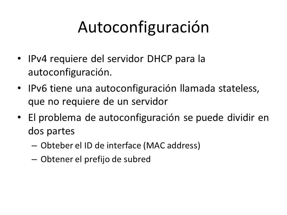 Además los routers deben reconocer Las direcciones anycast del router de la subred para las interfaces en las que esté configurado para actuar como ro