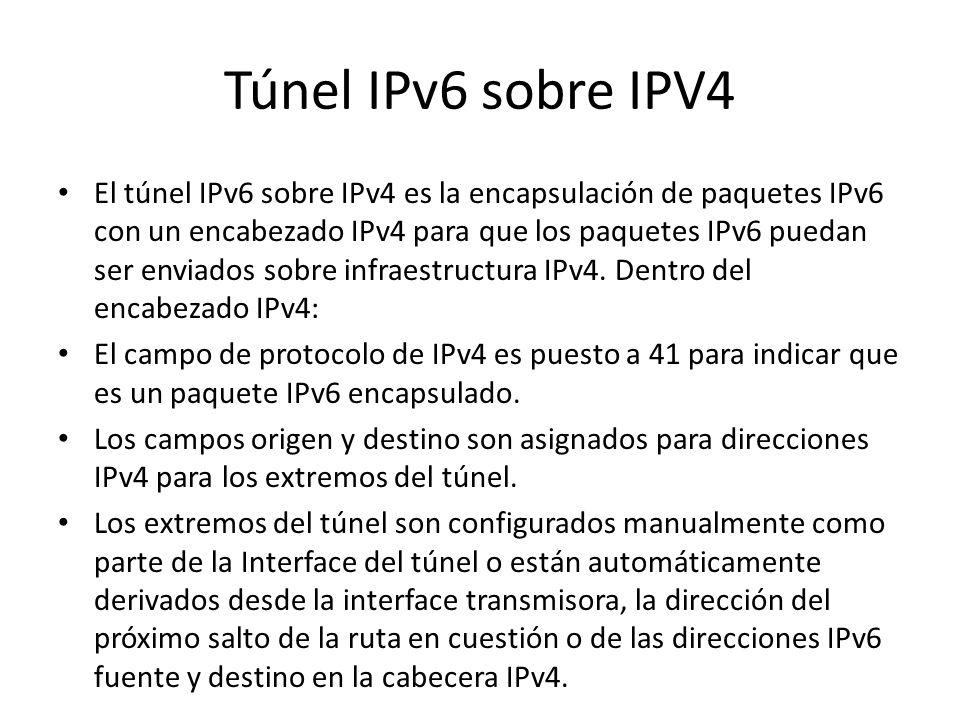 Capa IP dual Es una implementación de la pila de protocolos TCP/IP que incluyen ambas, una capa de Internet IPv4 y una capa de Internet IPv6. Este es