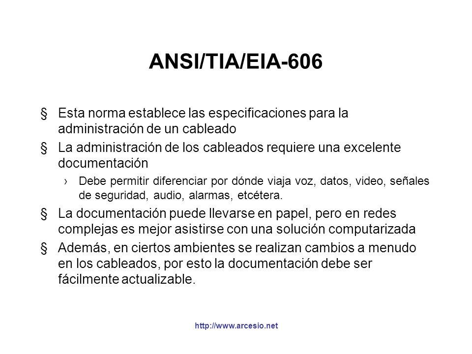ANSI/TIA/EIA-569-A §Describe los elementos de diseño para trayectos (ducterías) y cuartos dedicados a equipos de telecomunicaciones. La ductería debe