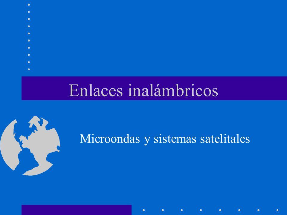 Enlaces inalámbricos Microondas y sistemas satelitales