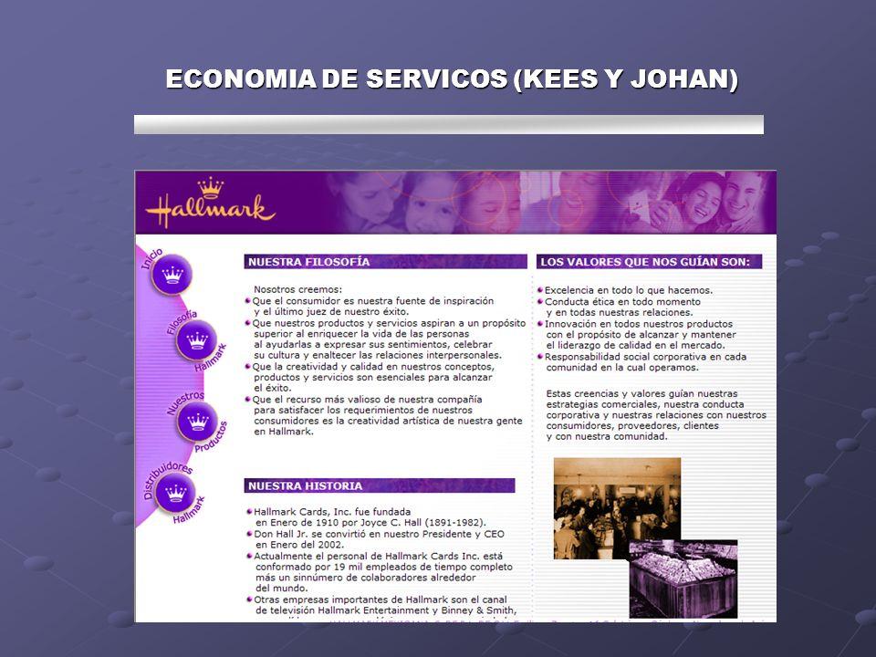 ECONOMIA DE SERVICOS (KEES Y JOHAN)