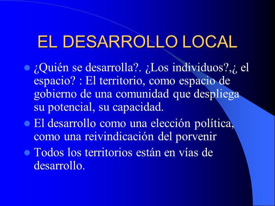 LEADER Y DESARROLLO LOCAL La innovación se define a partir de la reforma de lo local LEADER va por delante del MCA de la región y no es un complemento de los programas acogidos a éste.