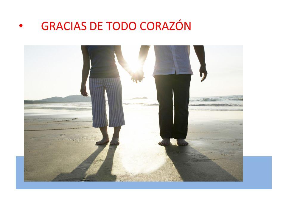 Gracias de todo corazón GRACIAS DE TODO CORAZÓN