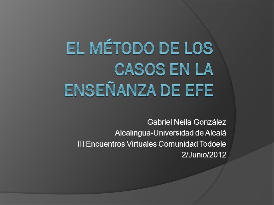Gabriel Neila González Alcalingua-Universidad de Alcalá III Encuentros Virtuales Comunidad Todoele 2/Junio/2012