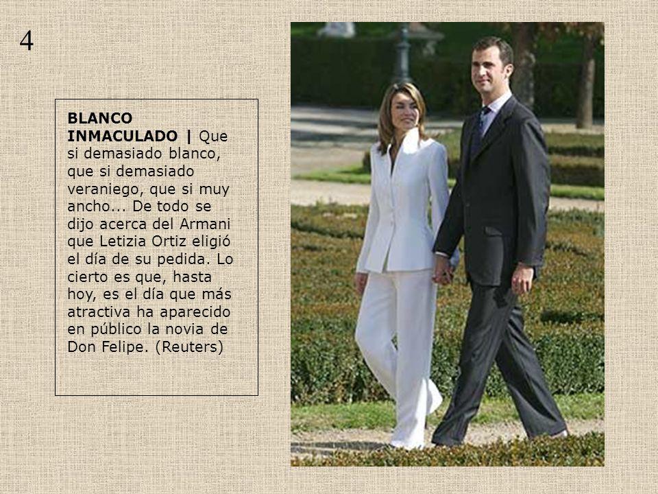CAMBIO DE RUMBO | Entre su pedida, el 6 de noviembre, y los actos en honor de la Constitución, un mes después, Letizia Ortiz desapareció .