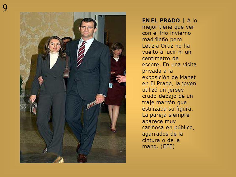 EN EL PRADO | A lo mejor tiene que ver con el frío invierno madrileño pero Letizia Ortiz no ha vuelto a lucir ni un centímetro de escote. En una visit