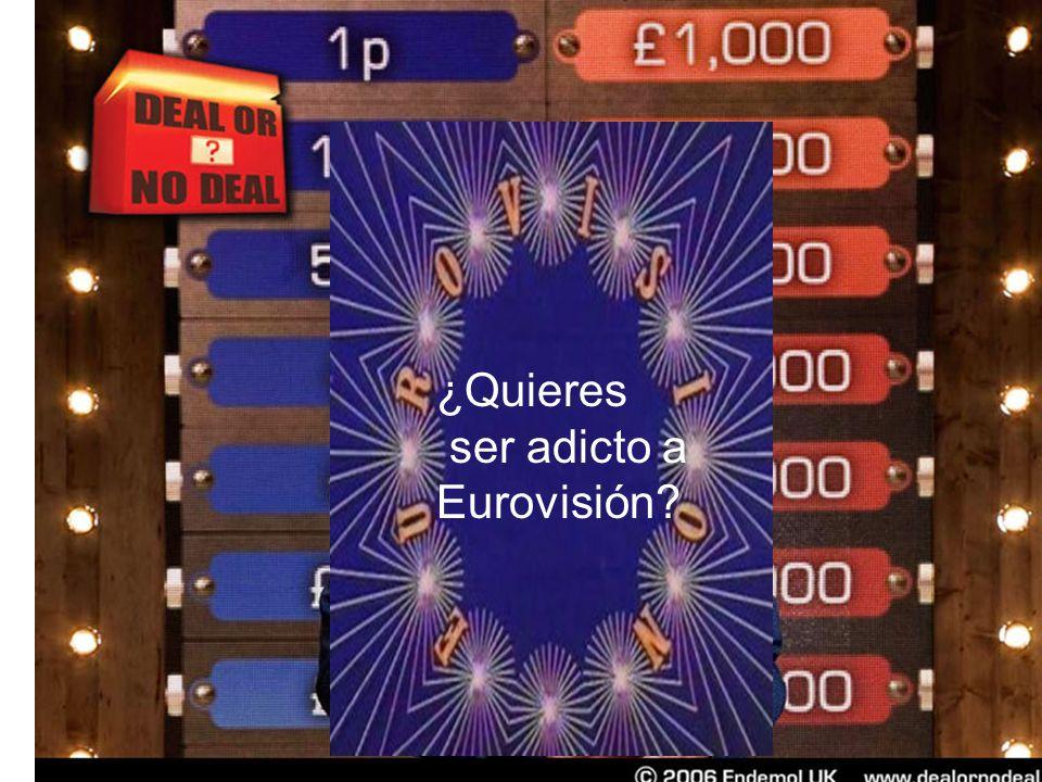 ¿Quieres ser adicto a Eurovisión?