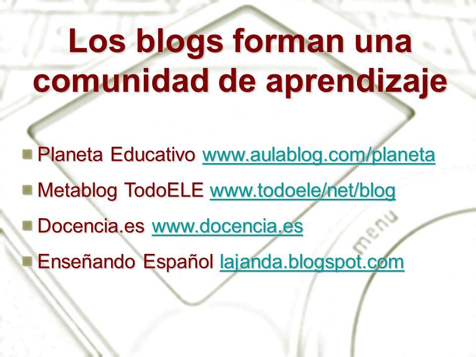 Blogger Página de inicio de Blogger Opción de búsqueda de blogs Opción de visita rápida Opción de creación de blog Opción de entrada en un blog ya creado