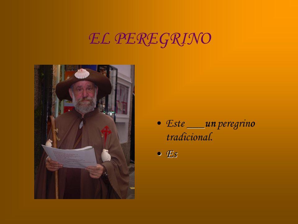 EL PEREGRINO ___Este ___un peregrino tradicional. EsEs