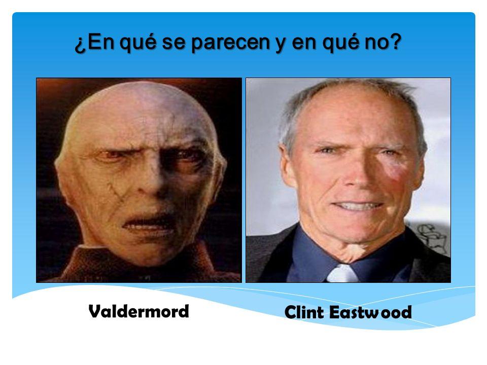 ¿En qué se parecen y en qué no? Valdermord Clint Eastwood