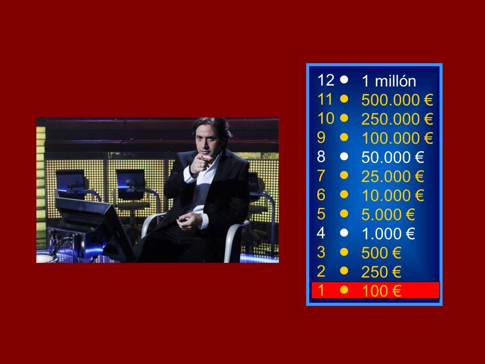 1100 3 500 12 11 10 1 millón 500.000 250.000 ¿Cuál de los siguientes no es un instrumento musical.