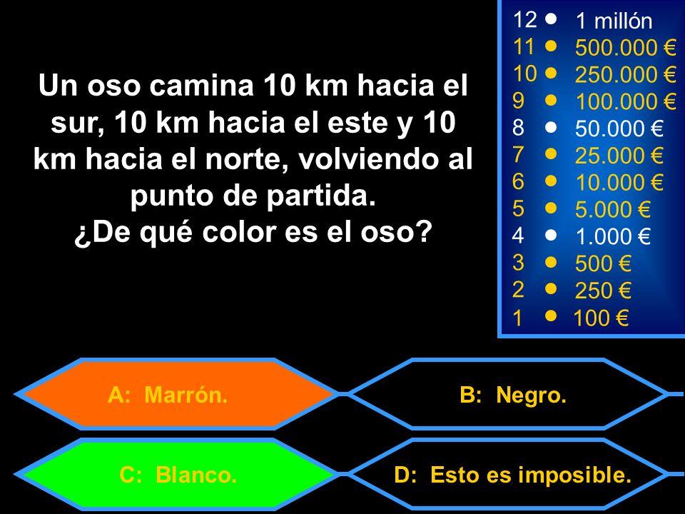 A: Marrón.