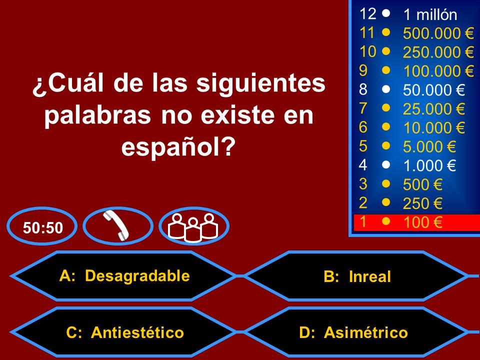 2 250 1 100 8 7 6 5 4 3 50.000 25.000 10.000 5.000 1.000 500 12 11 10 9 1 millón 500.000 250.000 100.000 Una taquillera es una persona que… A: dice tacos.