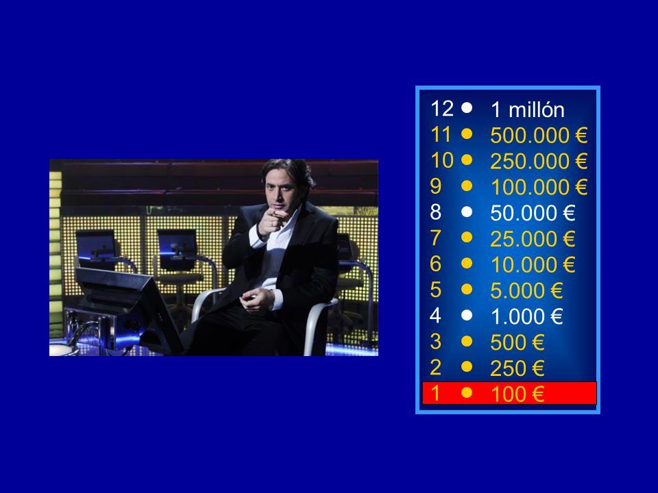 1100 8 7 6 3 50.000 25.000 10.000 500 12 11 10 9 1 millón 500.000 250.000 100.000 ¿De qué puede ser un gajo.