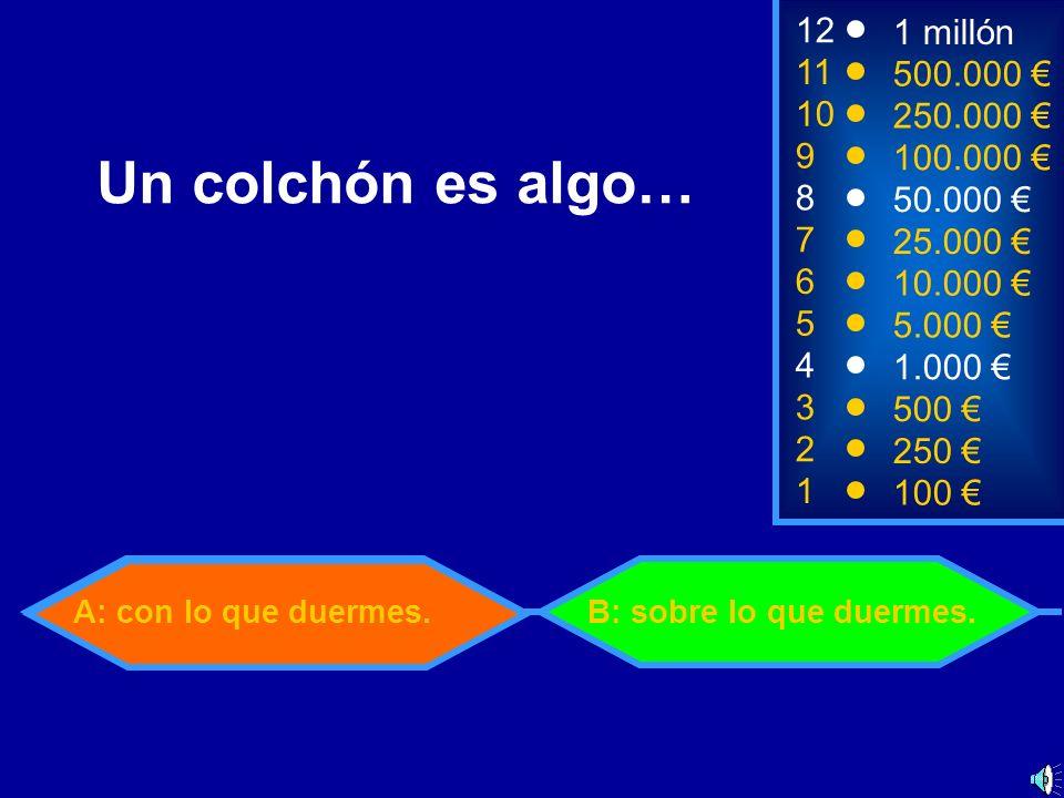 A: De mandarinaB: De merluza 2 250 8 7 6 5 50.000 25.000 10.000 5.000 12 11 10 9 1 millón 500.000 250.000 100.000 ¿De qué puede ser un gajo.