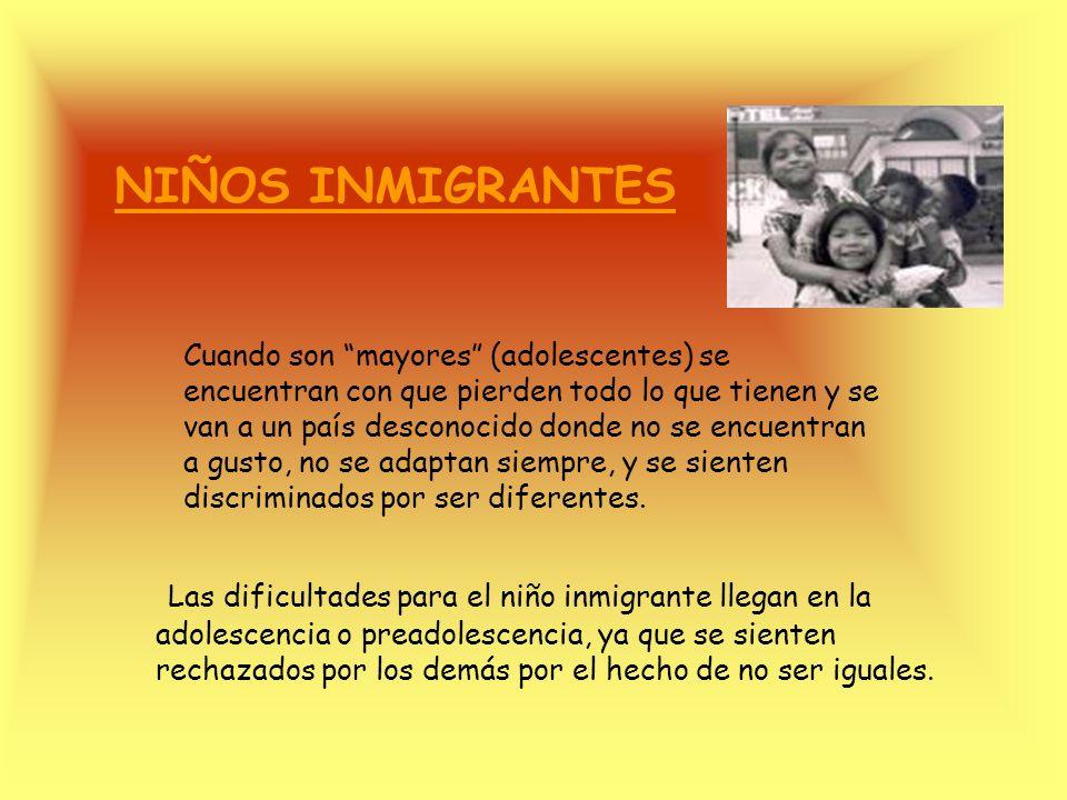 FAMILIAS INMIGRANTES España es un nuevo país de inmigración La reagrupación familiar puede ser de dos tipos: En fase: primero viene el marido o la muj