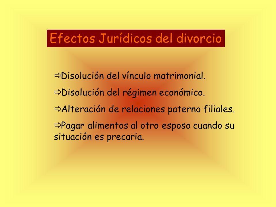 Divorciados / Separados