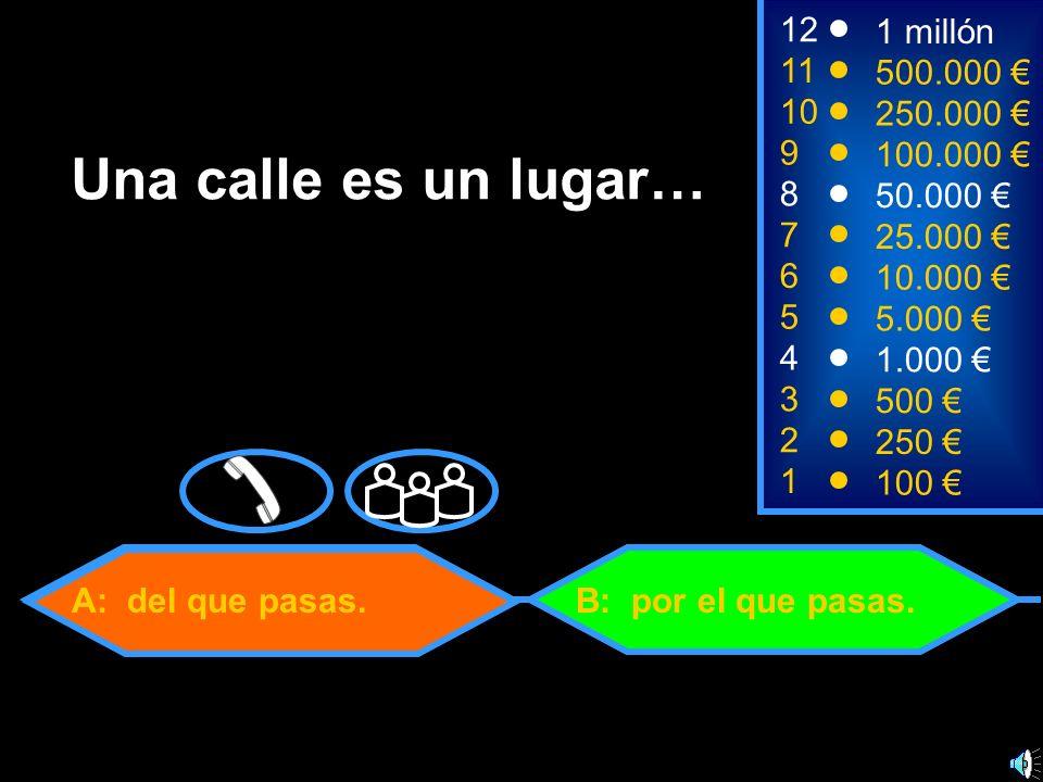C: Anormal B: Inhumano 1100 8 7 6 5 4 3 50.000 25.000 10.000 5.000 1.000 500 12 11 10 9 1 millón 500.000 250.000 100.000 ¿Cuál de las siguientes palabras no existe en español.
