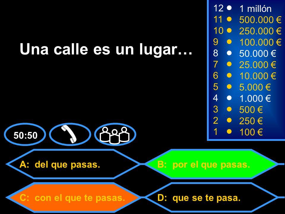 A: De Argentina.C: De México.D: De Chile. B: De España.