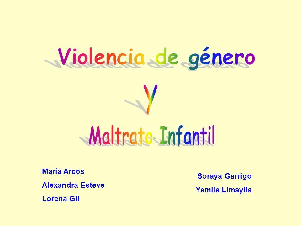 María Arcos Alexandra Esteve Lorena Gil Soraya Garrigo Yamila Limaylla