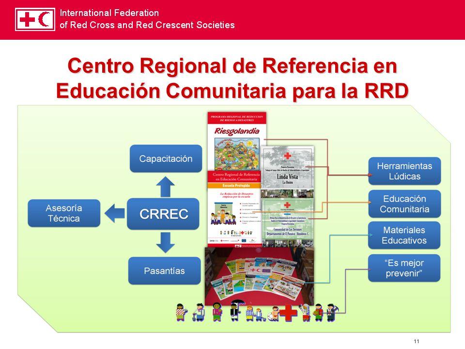 11 Centro Regional de Referencia en Educación Comunitaria para la RRD