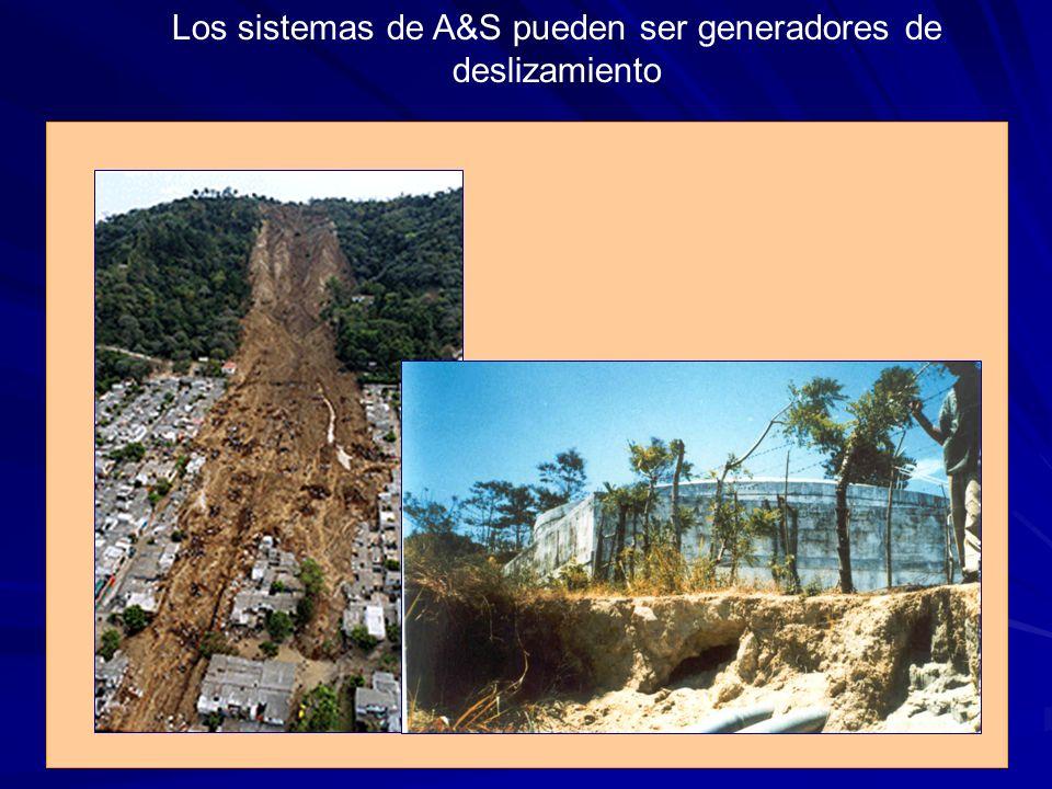 Los sistemas de A&S pueden ser generadores de deslizamiento