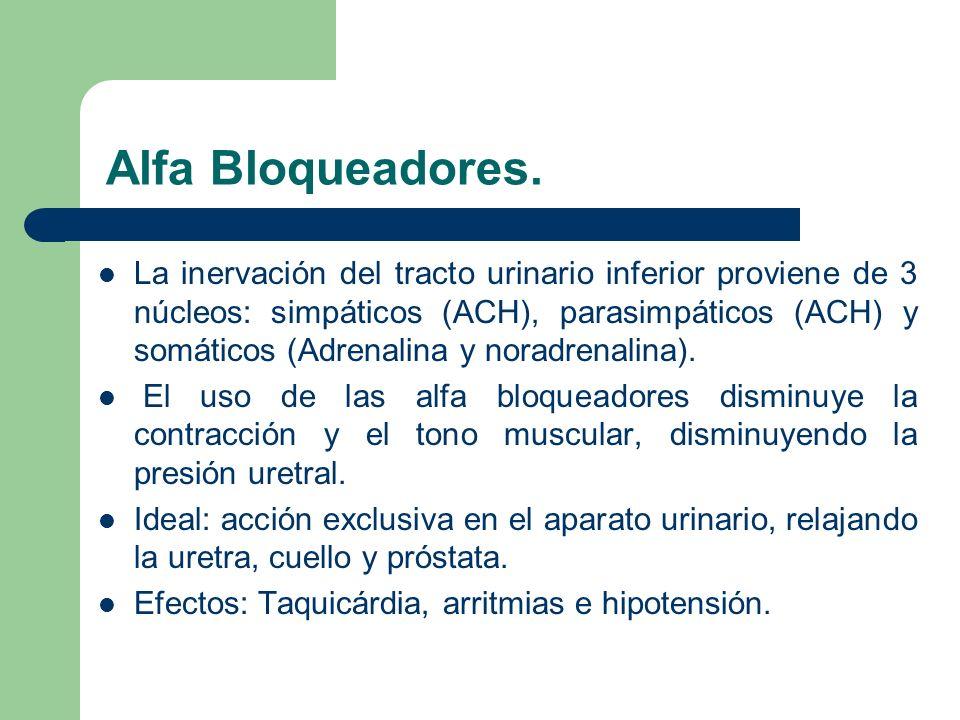 Fármacos.Nicergolina: Bloqueador alfa 1. 30 mg/día.