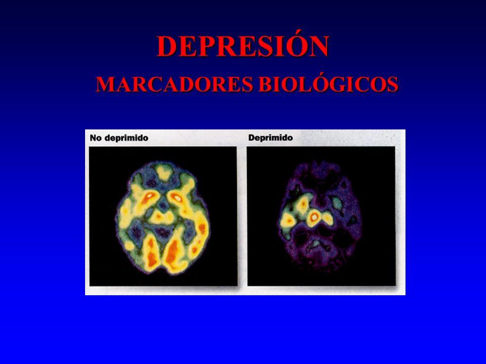DEPRESIÓN MARCADORES BIOLÓGICOS