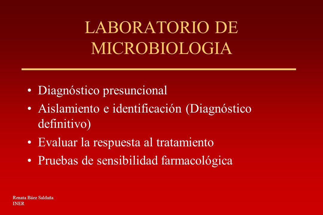 ENFERMEDAD TUBERCULOSA MUESTRAS BIOLÓGICAS Pulmonar –Expectoración, lavado y cepillado bronquial, aspirado gástrico.