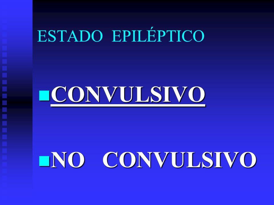 ESTADO EPILÉPTICO DIAGNÓSTICO DIFERENCIAL DIAGNÓSTICO DIFERENCIAL * Alt.