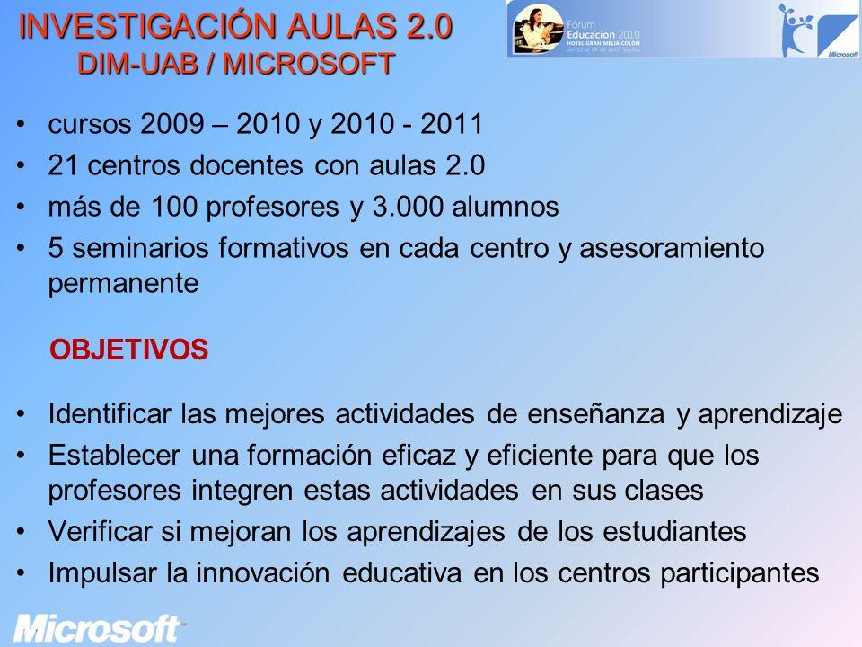 Identificar las mejores actividades de enseñanza y aprendizaje Establecer una formación eficaz y eficiente para que los profesores integren estas acti