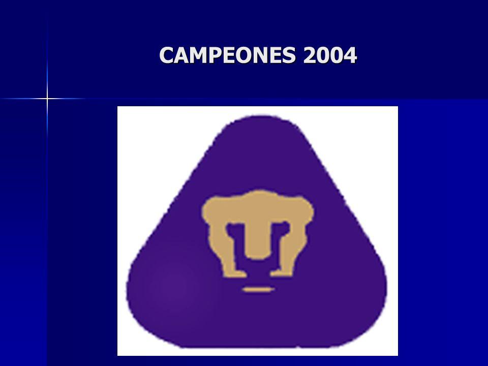 CAMPEONES 2004