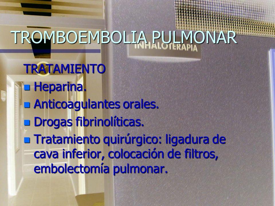 PROFILAXIS DE LA TROMBOSIS VENOSA DEXTRÁN de 40 y 80 IV. DEXTRÁN de 40 y 80 IV. WARFARINA. Mantener el TP de a 1.5 veces del testigo. WARFARINA. Mante