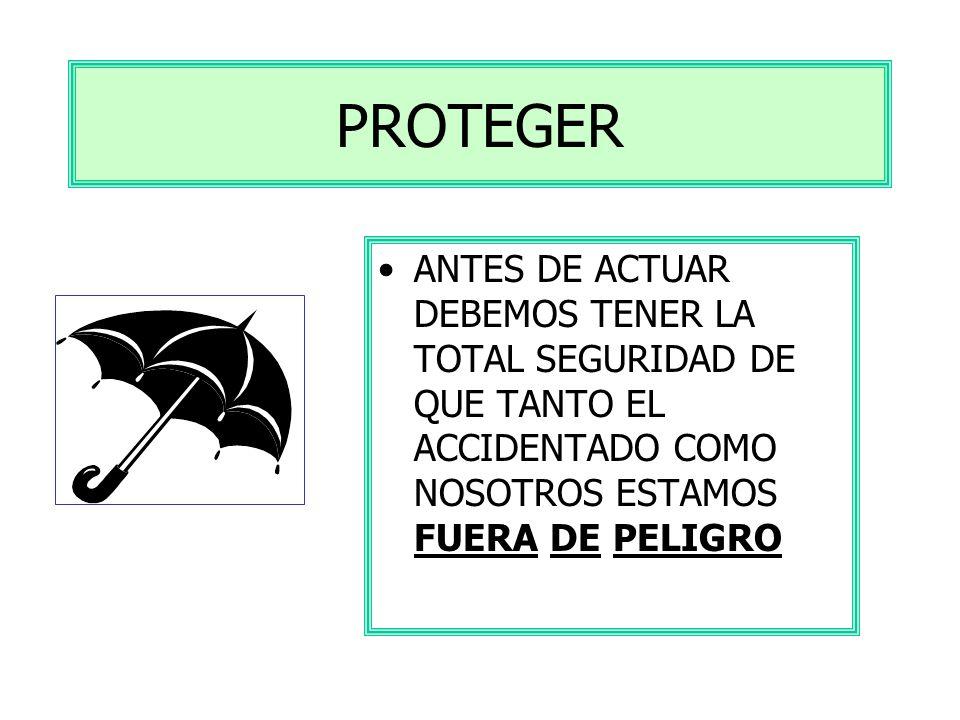 ASPECTOS BÁSICOS P.A.S. PROTEGER AVISAR SOCORRER