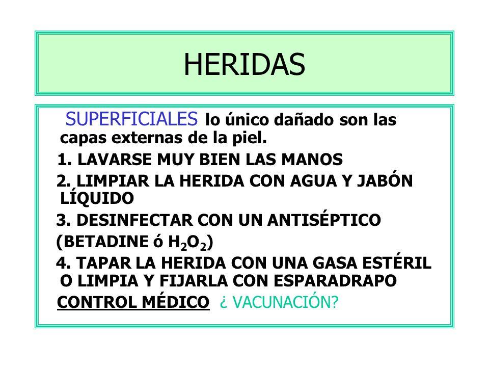 ÍNDICE HERIDAS HEMORRAGIAS FRACTURAS QUEMADURAS LESIONES EN LOS OJOS ASFIXIA PARADA CARDIORESPIRATORIA