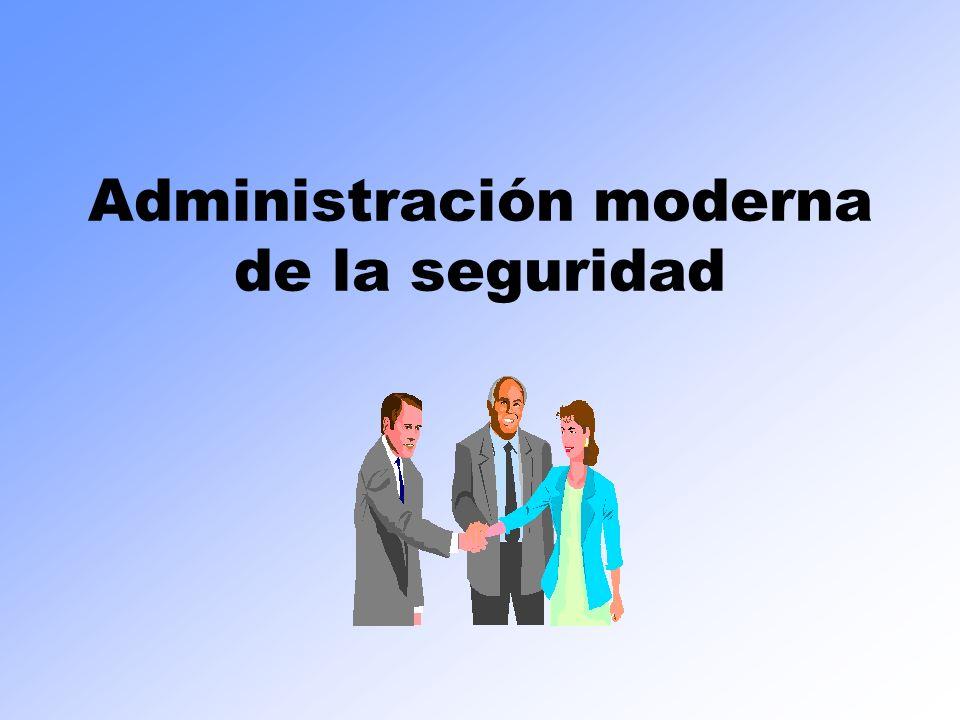 Administración moderna de la seguridad