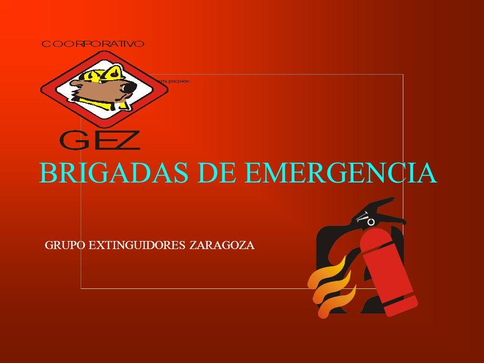BRIGADAS DE EMERGENCIA GRUPO EXTINGUIDORES ZARAGOZA