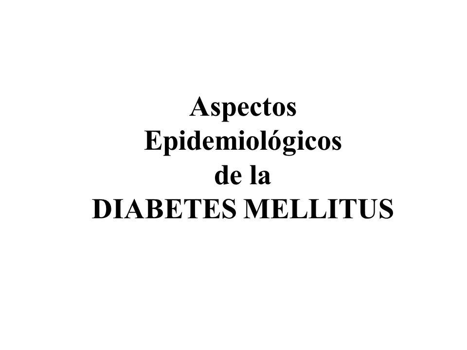 Aspectos Epidemiológicos de la DIABETES MELLITUS Dra. Leticia Sánchez-Reyes HOSPITAL GENERAL DE MÉXICO