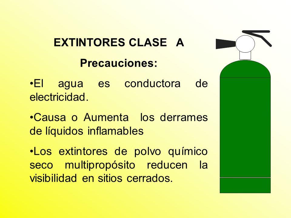 SELECCIÓN DE EXTINTORES En resumen los extintores de cualquier zona deben ser adecuados a los riesgos presentes en la misma.