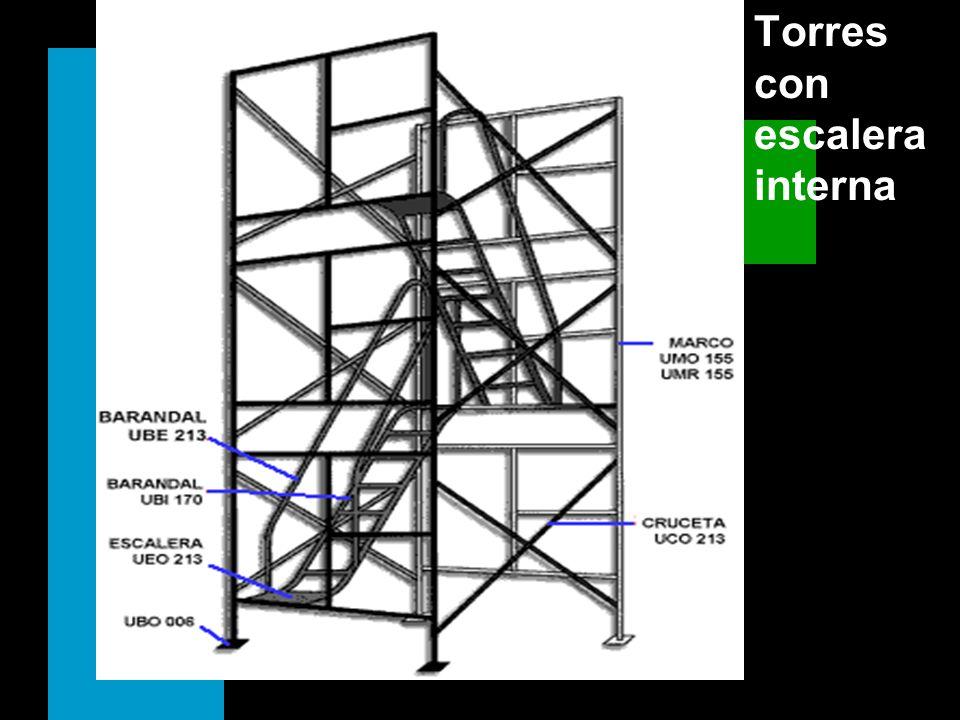 Torres con escalera interna