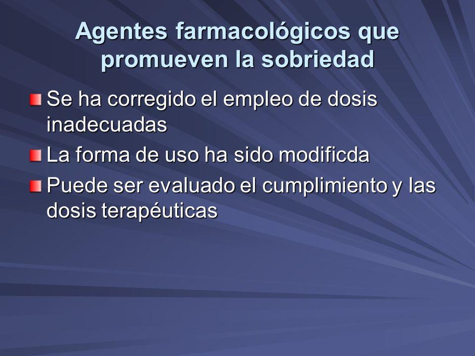 Agentes farmacológicos que promueven la sobriedad (Aversivos) Vasodilatación.